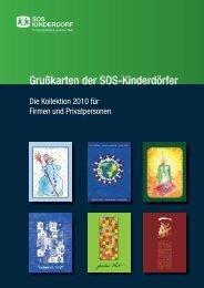 Grußkarten der SOS-Kinderdörfer - Kartenshop SOS-Kinderdorf