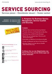 SERVICE SOURCING - Soberano Sourcing GmbH