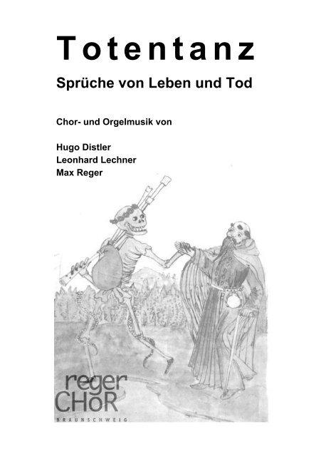 Totentanz Sprüche Von Leben Und Tod Regerchor Braunschweig Ev