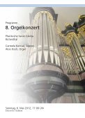 sopranistin und organist / gemeinsames lied / konzerte - Gemeinde ... - Page 2