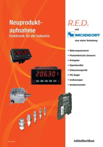 InDUstRierOBust - RED - Elektromechanische Bauelemente