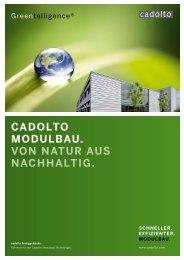 der nachhaltiG - Cadolto