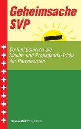 Geheimsache SVP Buch 978-3-905708-54-7