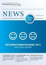 MITARBEITERBEFRAGUNG 2012 - RKiSH