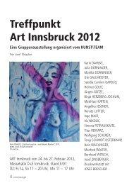 Treffpunkt Art Innsbruck 2012 Eine ... - ute gallmeister