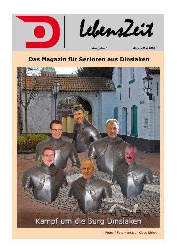 Das Magazin für Senioren aus Dinslaken