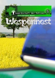 Wespennest Nr.2 - Gewerkschaft der Polizei - Kreisgruppe Wesel