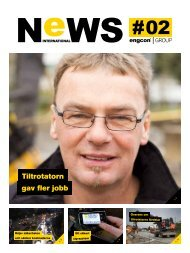 International NeWS 2012 #2 - Engcon