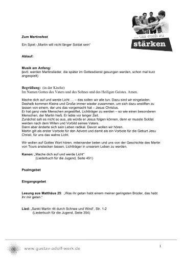 Martinsspiel PDF - Gustav-Adolf-Werk eV