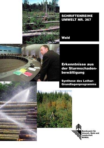 schriftenreihe umwelt nr. 367 - Planat