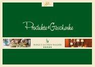 Produkte&Geschenke - Sachsen-Wagner