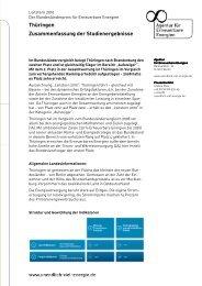 Download Factsheet Thüringen - Agentur für Erneuerbare Energien