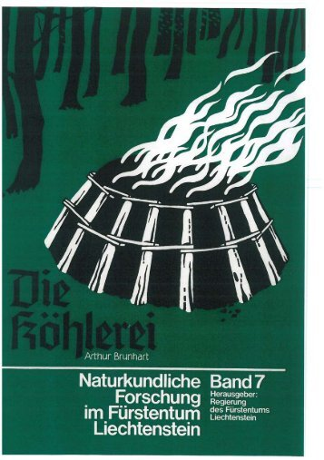 Page 1 Page 2 Page 3 Die Köhlerei in Liechtenstein Arthur Brunhart ...