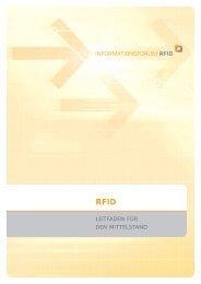 RFID: Leitfaden für den Mittelstand - Informationsforum RFID