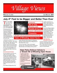 July 4th Fest to be Bigger and Better Than Ever - Village of Wheeling