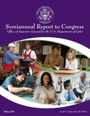 Semiannual Report to Congress - Office of Inspector General ...