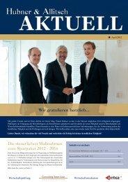 Download H&A Aktuell April 2012 - Hubner & Allitsch