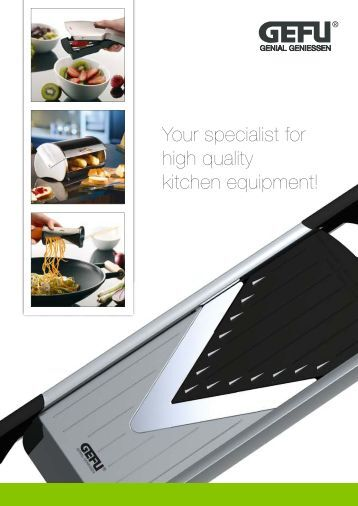 Your Specialist For High Quality Kitchen Equipment! - Awa - Design