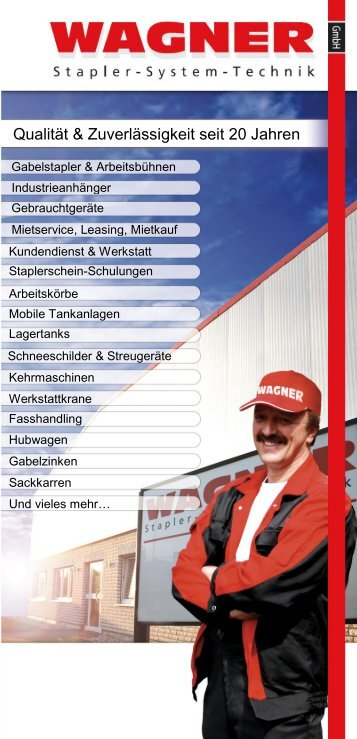 Wagner Flyer als PDF - Wagner GmbH