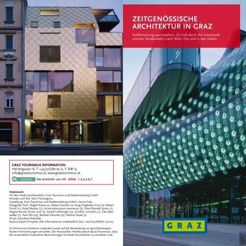 ZEITGENÖSSISCHE ARCHITEKTUR IN GRAZ - Graz Tourismus