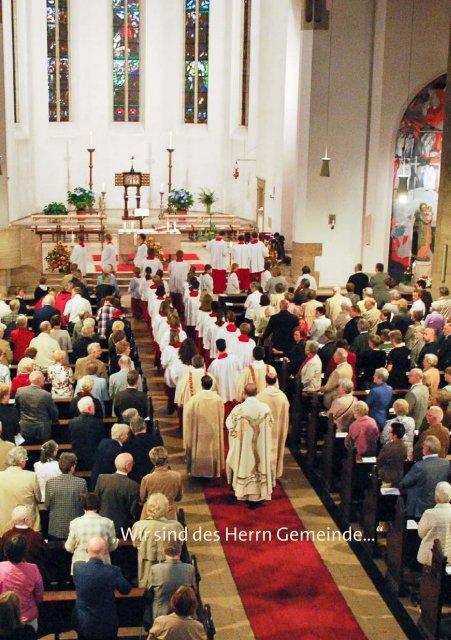 Gottes Haus Unser Pfarrbrief Sommer 2011 - Kath. Pfarrgemeinde ...