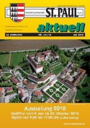Gemeindezeitung Juni 2010 - Marktgemeinde Sankt Paul im Lavanttal
