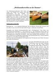 Holzkanadiertreffen an der Hamme - Wassersportverein Ritterhude eV