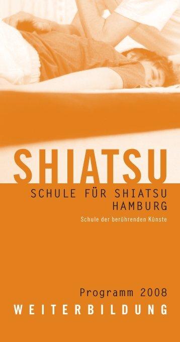 Programm 2008 - Schule für Shiatsu Hamburg