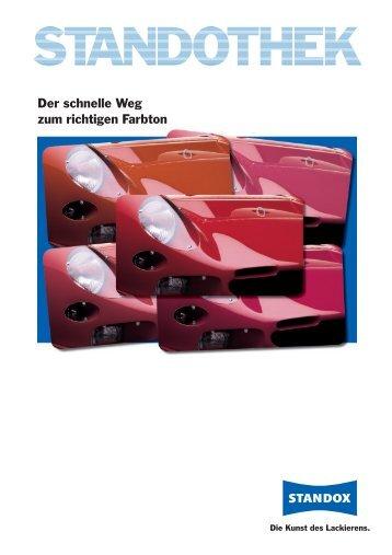 Der schnelle Weg zum richtigen Farbton - Standox GmbH