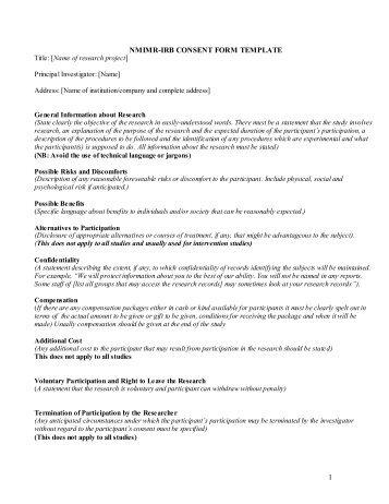 Consent Fom (pdf) - Noguchi