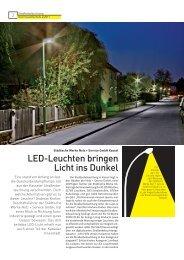 LED-Leuchten bringen Licht ins Dunkel - Herkules-Resotec ...