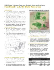 Fact Sheet: U.S. Oil Shale Resources - DOE - Fossil Energy - U.S. ...