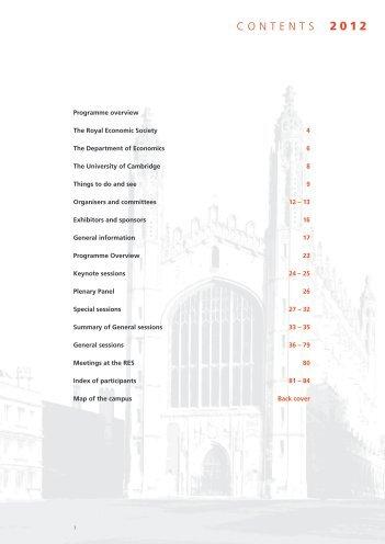 The Austin Robinson Memorial Prize - Royal Economic Society