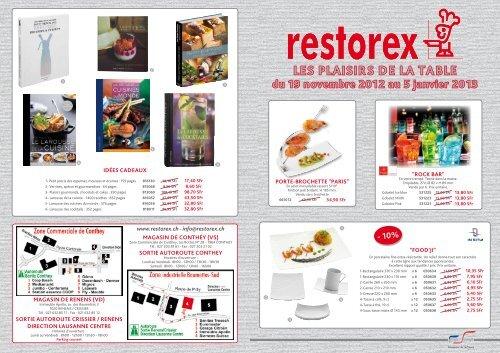 Les Plaisirs De La Table Du 19 Novembre 2012 Au 5 Janvier