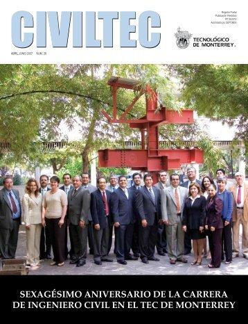 Sexagesimo aniversario de la carrera de ingeniero civil - CIVILTEC
