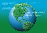 Green economies around the world? - Sustainable Europe ...