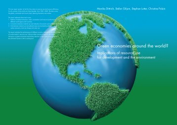 Green economies around the world? - Sustainable Europe ...