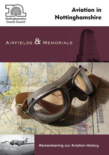Aviation in Nottinghamshire - UK Airfields - Richard E Flagg