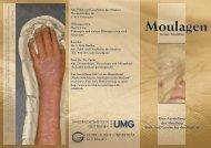 Moulagen - Ethik und Geschichte der Medizin