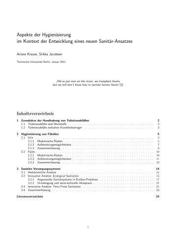 Aspekte der Hygienisierung.pdf - Ingenieure ohne Grenzen