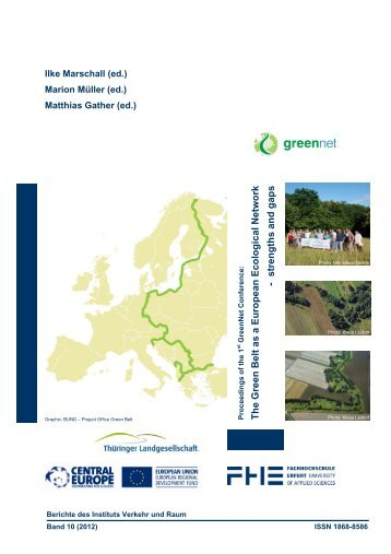 The Green Belt as a European Ecological Network strengths and gaps