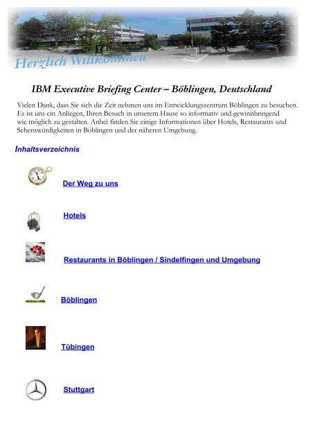 Ibm Executive Briefing Center Boblingen Deutschland