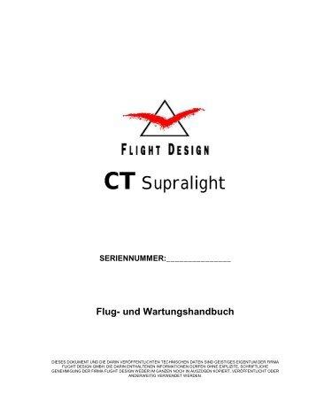 Flug-und Wartungshandbuch CT Supralight - service.bell-m-air.de