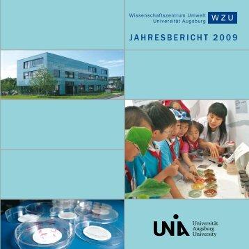 Wissenschaftszentrum Umwelt Jahresbericht 2009 - OPUS ...