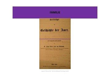 Alois Ritter von Auer Welsbach - Althofen