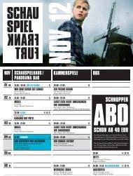 kraBat - Schauspiel Frankfurt