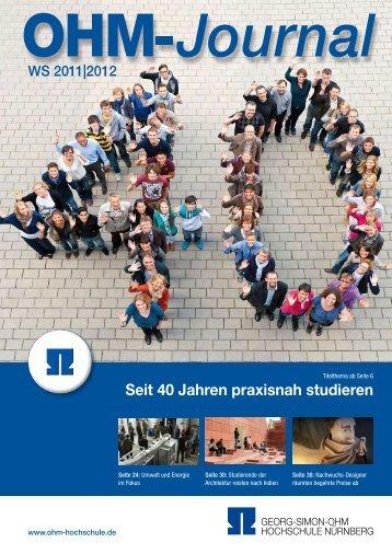 Seit 40 Jahren praxisnah studieren - Ohm-Hochschule Nürnberg