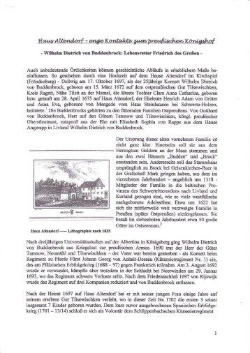 """Dr. Heinz-Josef Horstschäfer: """"Haus Altenmdorf - enge Kontakte"""