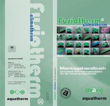 Montagehandbuch - aquatherm-pipesystems.com