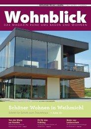 1 2 3 - Wohnblick - Das Magazin rund ums Bauen und Wohnen in ...